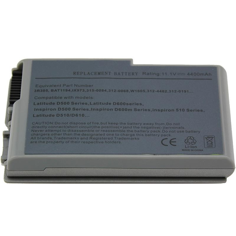 Dell Latitude D520 Series batterie