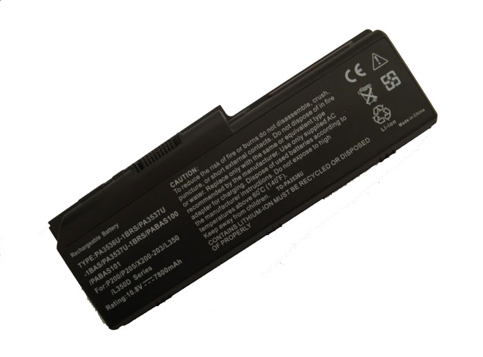 batterie TOSHIBA Satellite P200 Series, batteries TOSHIBA Satellite P200 Series